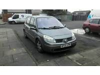 2005 Renault scenic 1.6 test july
