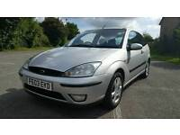 Ford focus silver 1.6cc full leather new mot drives fab