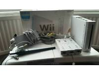 Nintendo Wii with balance board