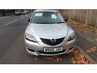 2005 MAZDA 3 SPORT, 1.6 LTR, VERY LOW MILAGE: 35675 FROM NEW, DRIVES GREAT, CLOSE OFFERS ARE WELCOME
