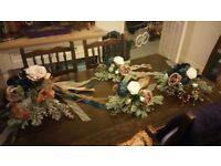 Bridal bouquet and 3 bridesmade bouquets