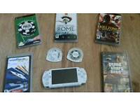 Sony PSP white (Good Condition)