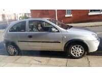 Vauxhall Corsa 2001 no not cheap sale as need space
