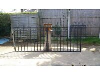 Wrough iron/metal garden gates