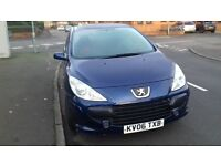 """""""LOW MILEAGE 75000"""" 1Yr MOT 2006 PEUGEOT 307 1.6S 5DR DRIVES REALLY WELL... EXCELLENT CONDITION!!"""