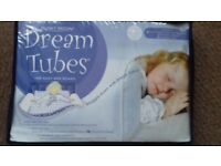 Dream tubes bed guard.