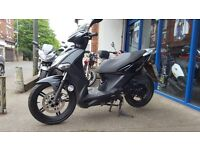 KYMCO AGILITY CITY 50 BLACK **WITH ONLY 5,096 MILES**