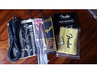 Fender Bass Monogram Strap and accesory pack. NEW!