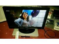 """24"""" LCD TV AND DVD PLAYER"""