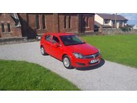 10 REG VAUXHALL ASTRA 1.7 CDTI ECOFLEX 5DR RED MOT-17 OUTSTANDING FREE-DELIVERY @BARGAIN CARS CHEAP