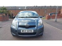 2009 (58) TOYOTA YARIS TR MODEL 1.3 VVTI PETROL 5 DOOR HATCHBACK 12 MONTHS MOT