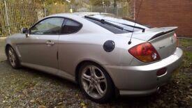 Hyundai Coupe/Tuscani Elisa 2.7 V6 167bhp 61.000 miles