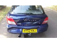 *CAT C* subaru impreza 2.0gx awd spares or repair (NON-TURBO/NOT WRX/ NOT STI)