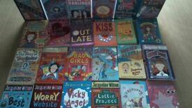 37 Jacqueline Wilson Books