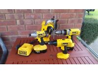 DeWalt power tools set