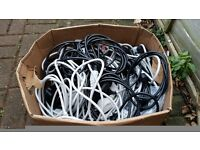 Power PC,TV....... and many more Mains Cables Lead 3 Pin