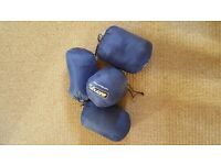 VANGO CAMPING HALF MOON PILLOWS X4 EXCELLENT CONDITION