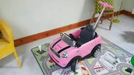 pink mini ride along