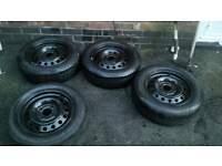 4 nissan almera wheels great condition