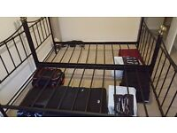 2 Single Metal Bed Frames for £40 each