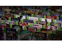 Collection of over 150 xbox games!!! Including GTA 5, Halo, Sonic, Fifa, Battlefield and more...