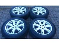 GENUINE LAND ROVER DISCOVERY 4 19 INCH ALLOY WHEELS RANGE ROVER HSE 3 5X120 T5 T6 VW STORMER