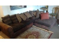 L Shaped Sofa Good Condition Very Comfortable