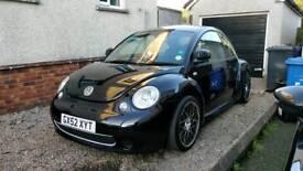 2002 Tdi VW Beetle Black modified Votex