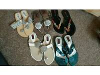 Womens shoes flat sandle uk size 7