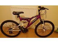 Girl Dunlop mountain bike. NEW