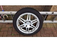Honda Accord Yokohama Tyre with Alloy 205/50/R16 £15 ono