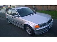 BMW 318i SE Automatic Silver 12 Months MOT £795