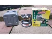 Coleman dual fuel stove