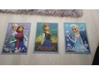Disney frozen puzzles