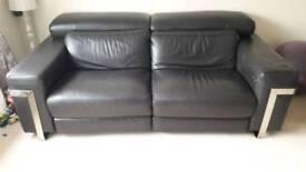 Sisiitalia elecric recliner leather sofa
