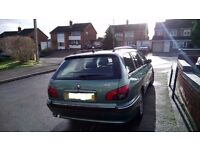 nice n clean 2002 special edition 7 SEATER peugeot 406 2.0 hdi diesel estate+mot+tax+FREE DELIVERY