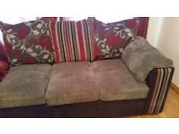 Corner Settee and Cuddle Chair....excellent conditon