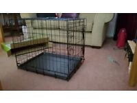 Pet cage ,suitable for a small dog.Brand new unused ,bought for a large cat but never required.