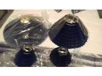 New tartan lightshades /plant pots/photo frame
