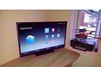 """Cello Smart Widescreen 40"""" HD1080P TV. Good condition"""