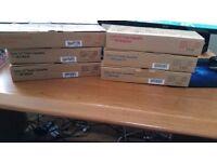 Lot of 6 Toner cassettes for laser printers