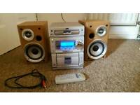 JVC hifi - can be used as computer/phone/tv speakers