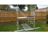 Scaffold Tower Boss from the Youngman range for sale.
