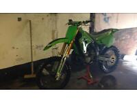 Kawasaki kx 250 evo 91 vgc needs slight attention