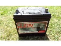 lion car battery silver calcium heavy duty fits many japanese cars 005