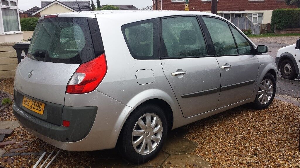 Renault Grand Scenic, Automatic, 2.0, 5 Door, 7 Seater, Petrol, 2007