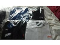 mens med tracksuits and tops
