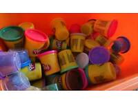Bulk box of playdoh and accessories