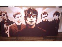 Oasis Union Jack canvas