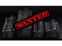 Wanted Faulty or not working Nikon DSLR cameras D3200, D3300, D5200, D5500, D6100, D6200, D7100 etc